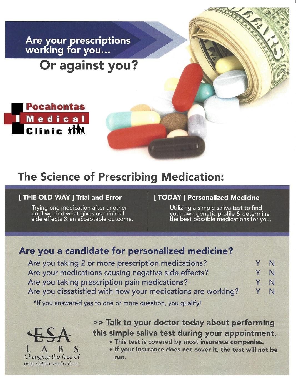 Personalized Medicine Ad